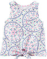 Carter's Tie-Front Tank Top - Toddler Girls