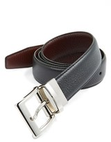 Trafalgar Men's 'Dorado' Reversible Leather Belt