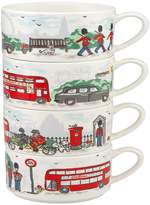 Cath Kidston London Stacking Mugs (Set of 4)