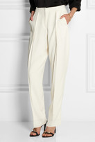 Calvin Klein Collection Enver crepe tapered pants