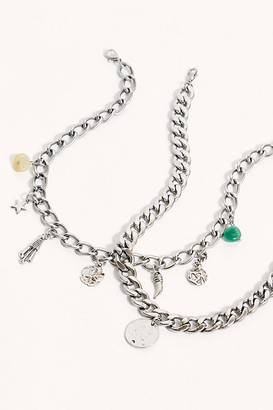 Free People Chain Necklace Set