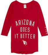 Victoria's Secret PINK Arizona Cardinals V-neck Tee