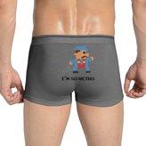 SHENMEN I'm So Retro Funny Pixelated 80's 85 Mens Boxer Briefs Underwear