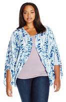 Melissa McCarthy Women's Plus Size Shrug Cover up