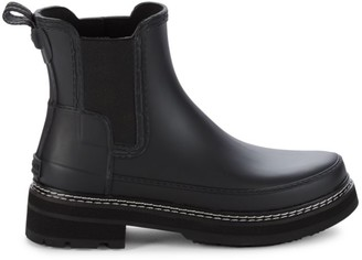 Hunter Rubber Chelsea Boots