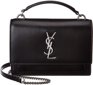 Saint Laurent Sunset Monogram Leather Crossbody