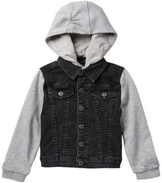 Hudson Jeans Emerson Hooded Denim Jacket (Toddler & Little Boys)