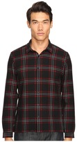 The Kooples Heavy Seersucker Checks Shirt Men's Long Sleeve Button Up