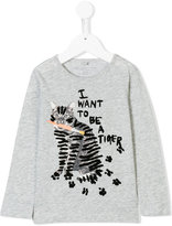 Stella McCartney Bella cat print top