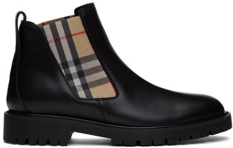 Burberry Black Allostock Boots