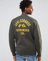 Levis Levi's Sweat Jacket With Back Embroidery