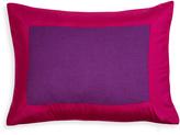 Jonathan Adler Purple and Fuchsia Siam Silk Pillow
