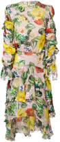 Preen by Thornton Bregazzi floral Oriana dress