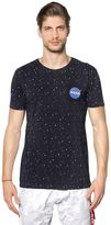 Alpha Industries Nasa Stars Printed Cotton Jersey T-Shirt