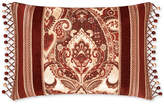 "J Queen New York Rosewood Burgundy 15"" x 21"" Decorative Pillow"