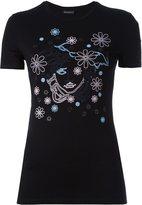 Versace floral Medusa T-shirt