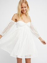 Free People Emmy Lou Mini Dress