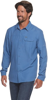Columbia Men's Smith Creek Omni-Wick Regular-Fit Woven Button-Down Shirt