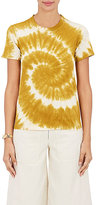 Sea Women's Tie-Dyed Cotton Jersey T-Shirt-GOLD, CREAM