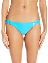 Body Glove Women's Smoothies Beachy Cheeky Coverage Bikini Bottom