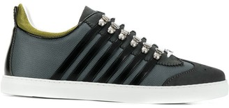 DSQUARED2 Stripe Panel Sneakers