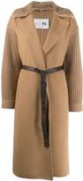 Manzoni 24 faux fur lined coat