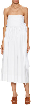 Jill Stuart Lindley Strapless Midi Dress