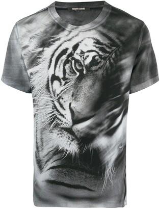 Roberto Cavalli Heritage Tiger print T-shirt