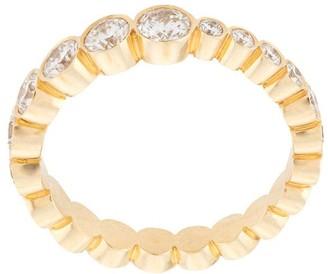 Sophie Bille Brahe 18kt Yellow Gold Croissant De Ensemble Diamond Ring