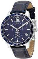 Tissot T095.417.16.047.00 Men Stopwatch Watch with Blue Dial Analog - Digital