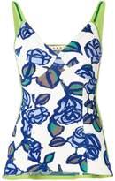 Marni floral tank top