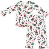 Sara's Prints Little Girls Long Sleeve Pajamas