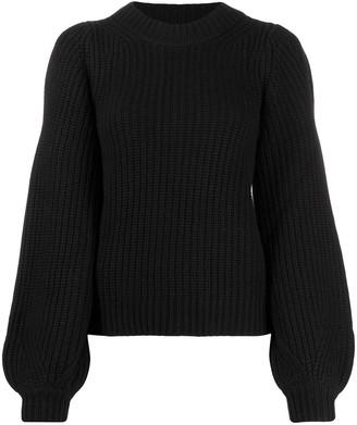 MICHAEL Michael Kors Puff Sleeve Sweater