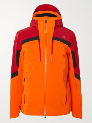 Kjus Speed Reader Colour-Block Hooded Ski Jacket