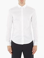 Wooyoungmi White Cotton Collar-Detail Shirt