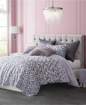 Juicy Couture Pearl Leopard 3-Piece Queen Comforter Set Bedding