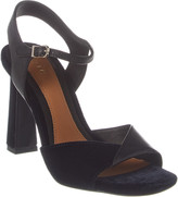 Joie Okina Leather & Velour Sandal
