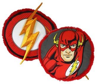 DC Comics The Flash Plush Pillow, 16-inch, Kids Decor Pillow, Lightning Fast