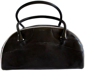 One Kings Lane Vintage Prada Bag - The Emporium Ltd. - black/white/silver
