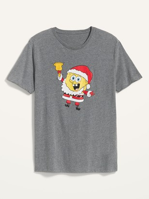 Old Navy SpongeBob SquarePants Christmas Gender-Neutral Tee for Men & Women
