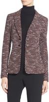 St. John Classic Tweed Knit Jacket