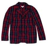 Engineered Garments Plaid Three-Button Sport Coat