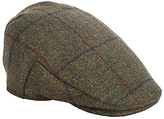 Christys' Balmoral Fine Tweed Flat Cap