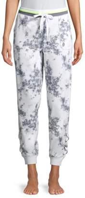Secret Treasures Womens Sleepwear Lounge Lace-Up Jogger Sweatpant