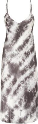 Nili Lotan Tie-Dyed Silk Dress