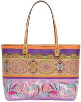 Etro Printed Coated Canvas Tote Bag