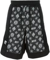 Kokon To Zai monogram Inside Out shorts - men - Cotton - S