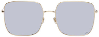 Christian Dior Gold and Silver DIORSTELLAIRE1 Sunglasses