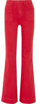 Alice + Olivia Juno High-Rise Wide-Leg Jeans