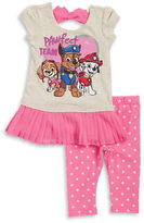 Nannette Girls 2-6x Little Girls Paw Patrol Top and Leggings Set